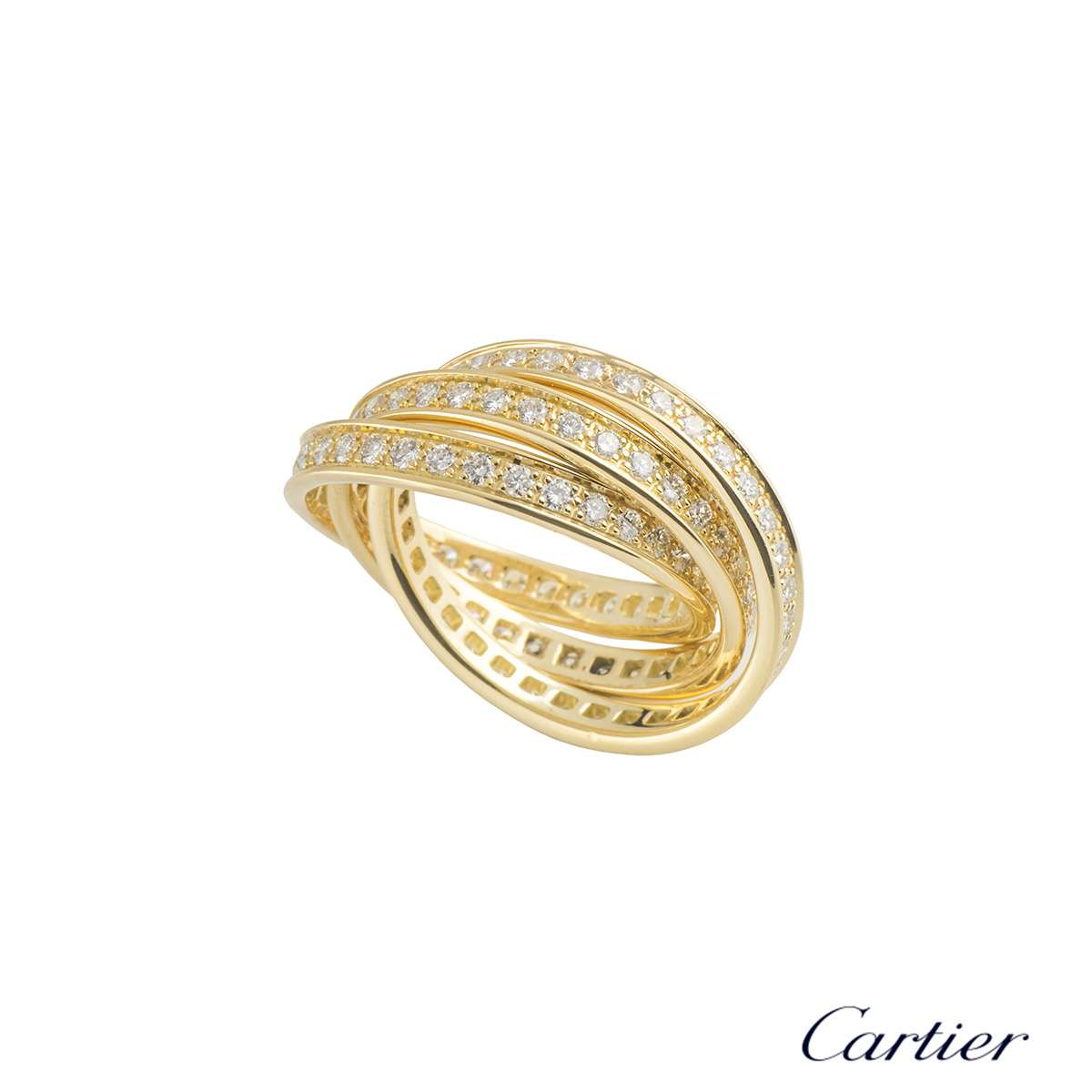 Yellow Gold Trinity de Cartier Ring